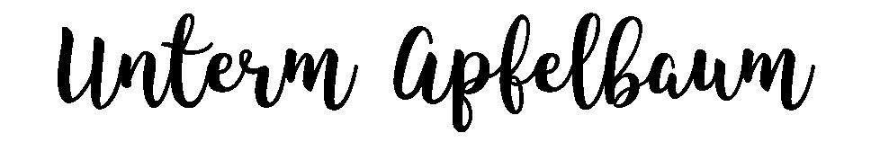 Unterm Apfelbaum | Model-Blog